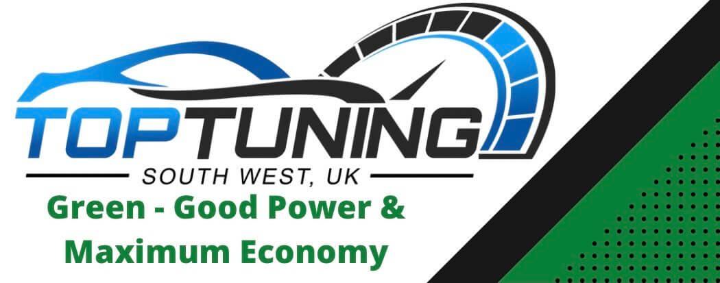 Top-tuning Green logo for Maximum economy