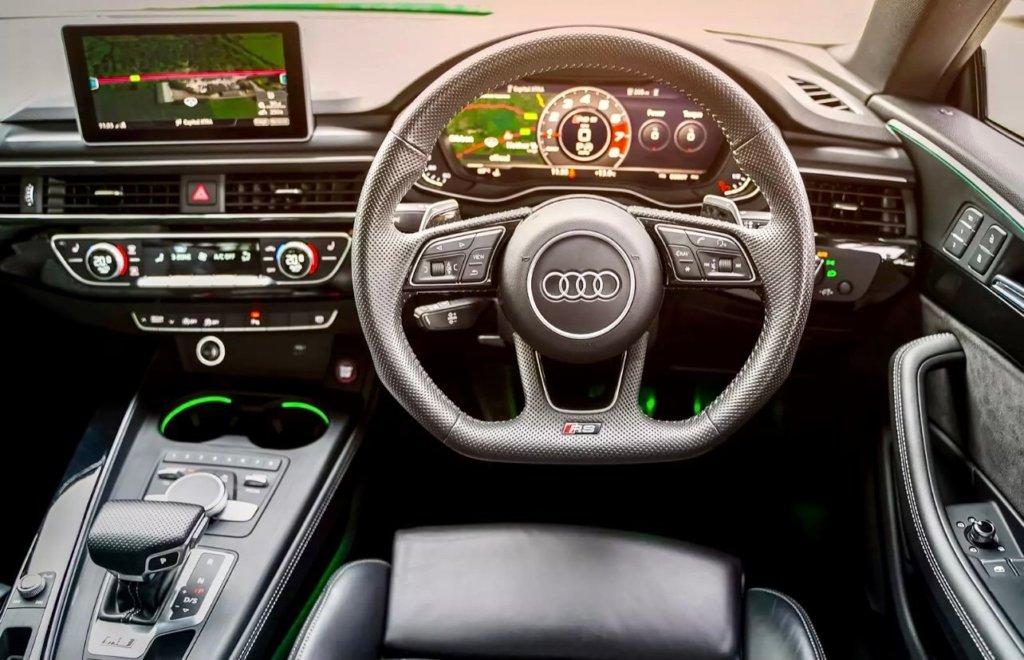 Car interior Audi