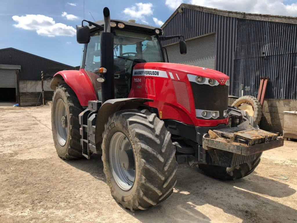 Massey Ferguson tractor tuned by Top-Tuning in SouthWest