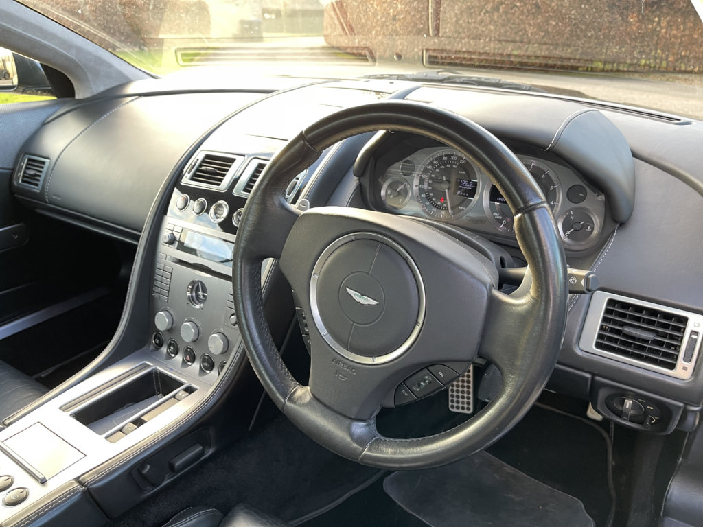 Inside a Aston Martin recently tuned by Top-Tuning