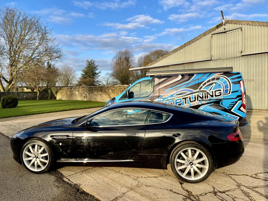Aston Martin gettinhg ready for tuning